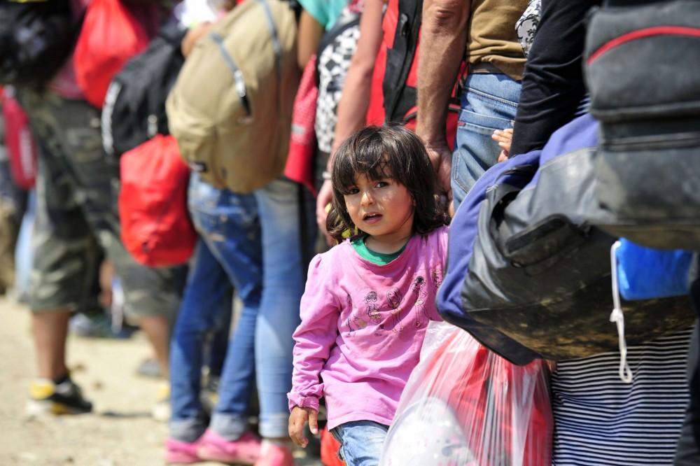 Enfants réfugiés et migrants