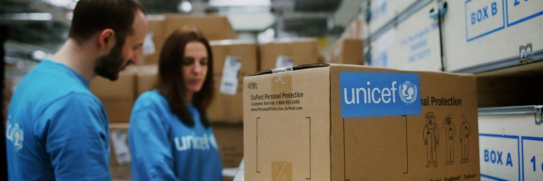Travailler pour l'UNICEF