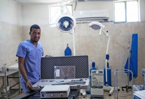 Contre l'excision des filles - L'équipement d'hôpital financé par l'UNICEF