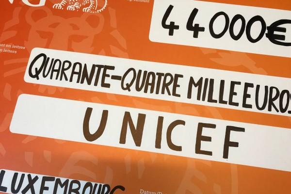 ING Luxembourg fait don de 44.000 €