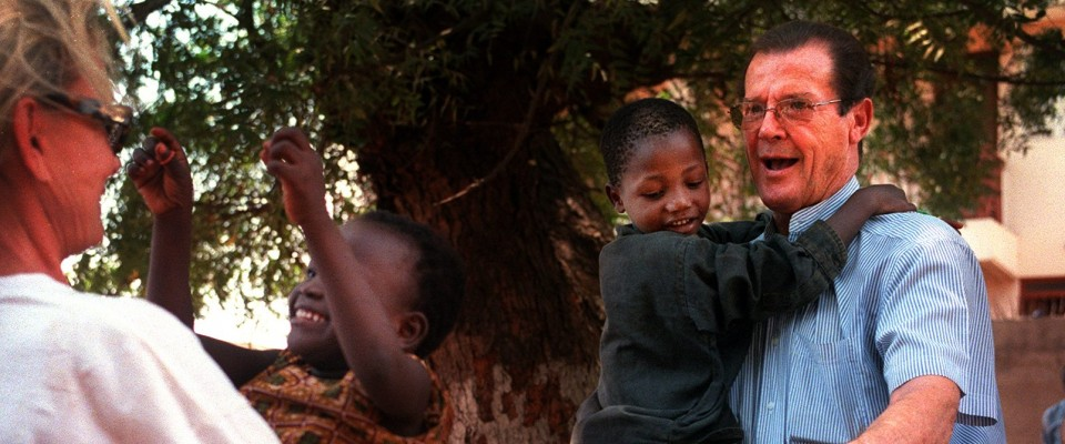 UNICEF-Luxembourg déplore le décès de Sir Roger Moore