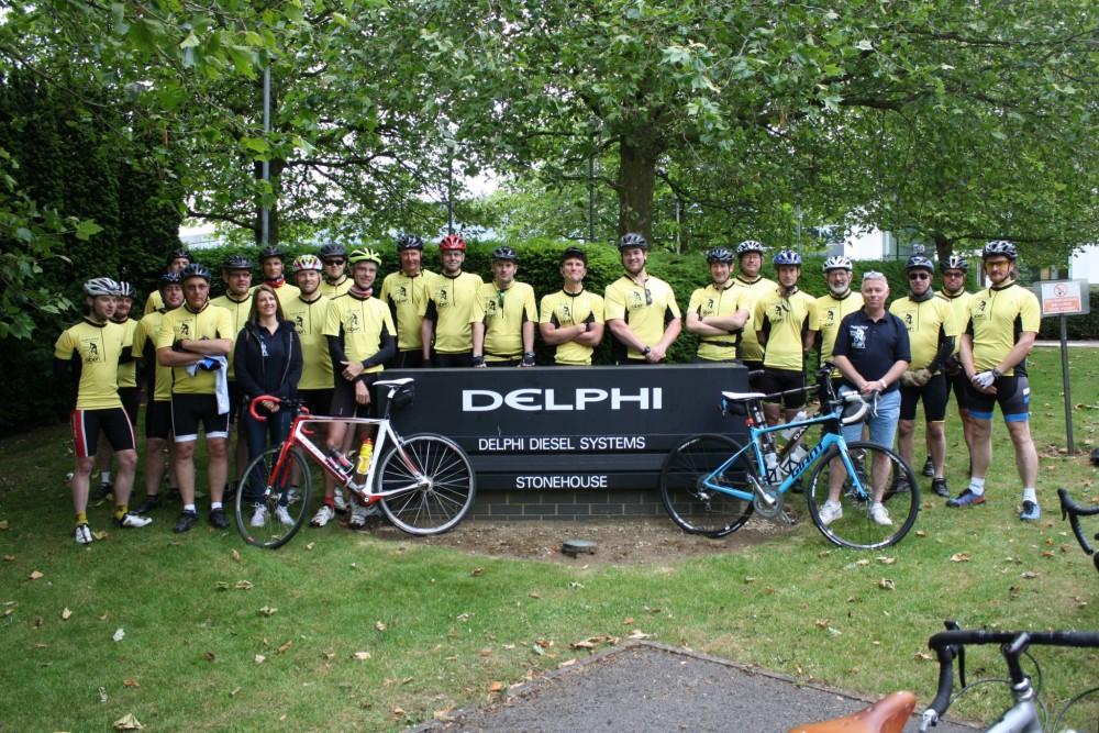 Delphi Excellence Week Bike Ride