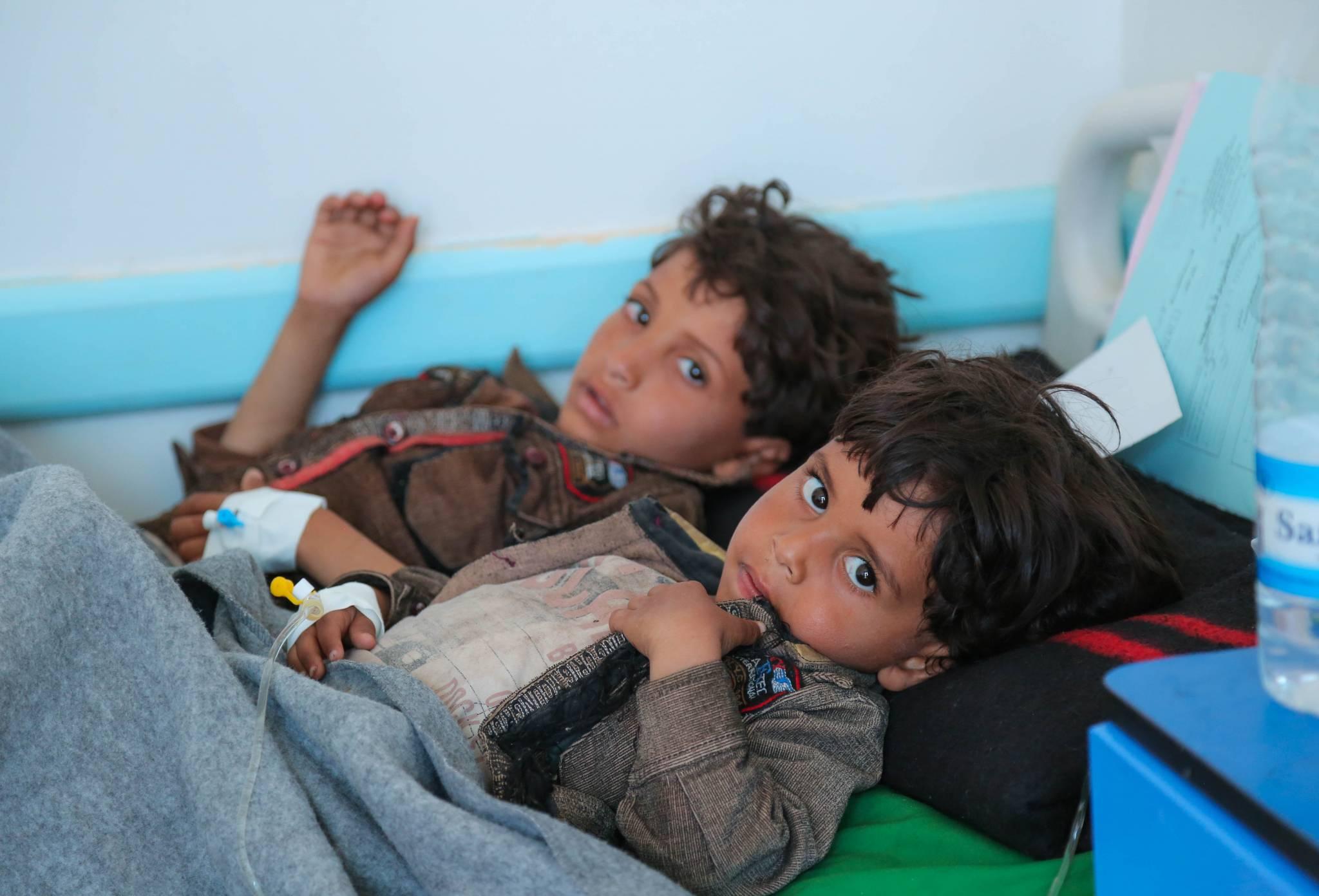 Les enfants oubliés du Yémen