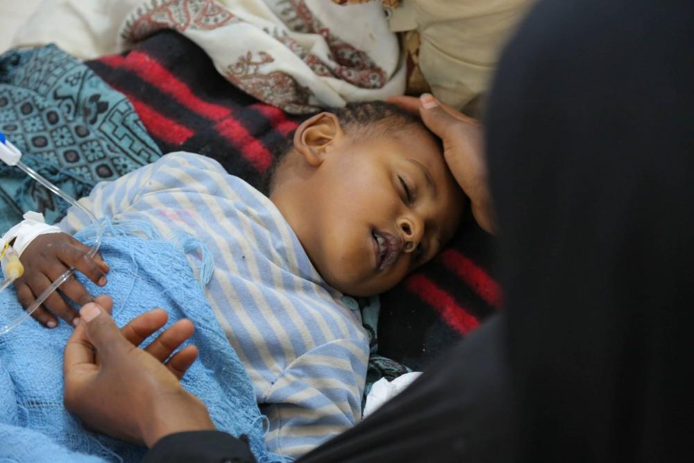 Famine et choléra au Yémen