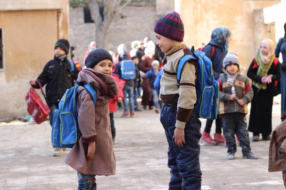 Une éducation pour les enfants en Syrie