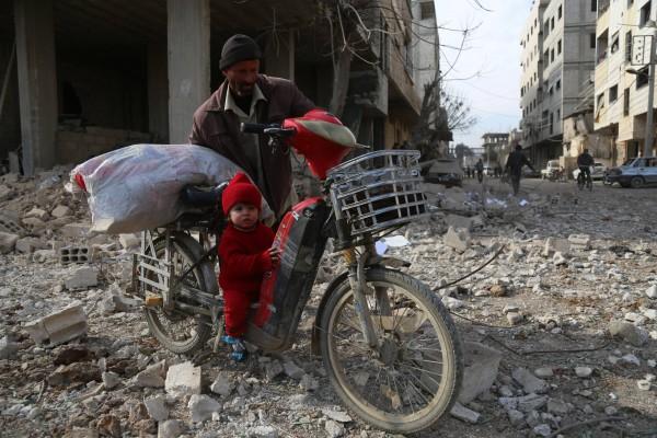 Un début d'année sanglant pour les enfants syriens