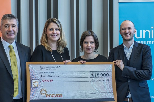 Enovos soutient l'éducation des enfants syriens