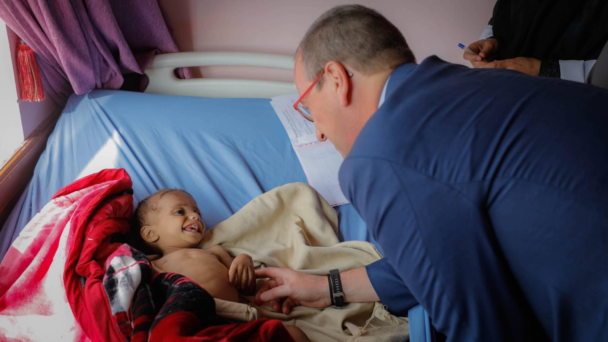 Aide pour les enfants au Yémen