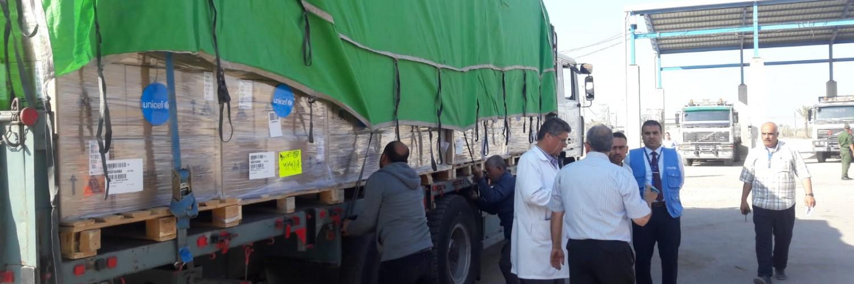 L'UNICEF aide 70.000 personnes dans la bande de Gaza
