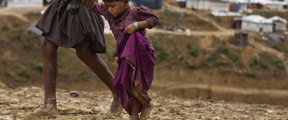 Nous protégeons les enfants rohingyas de la mousson