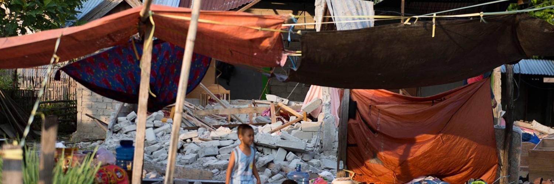 Tsunami en Indonésie Les prochains jours comptent. L'UNICEF est sur place.