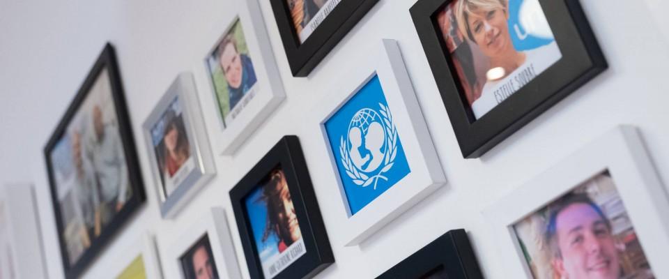 Ouverture de l'UNICEF-Haus