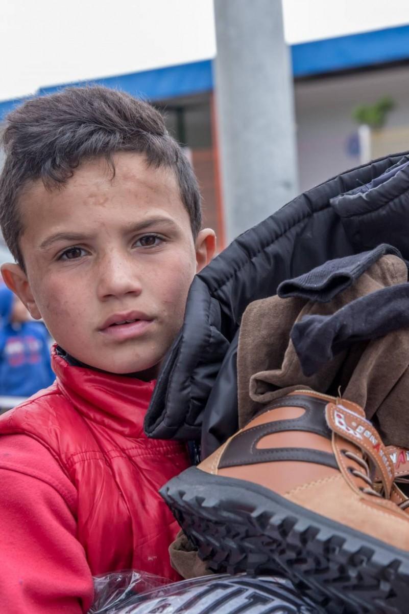 meilleur authentique b557c 2e836 Des vêtements chauds pour les enfants syriens   UNICEF ...