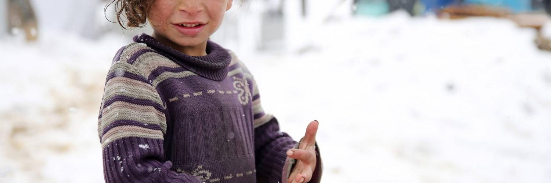 Le froid tue. Un enfant ne doit pas avoir froid !