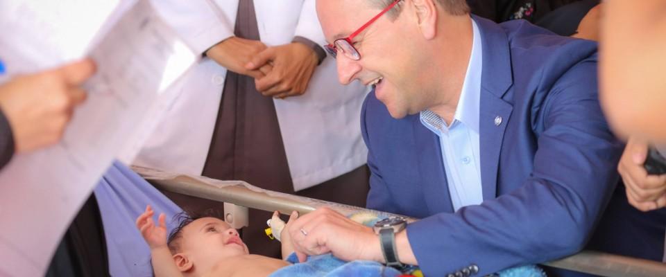 La guerre brutale au Yémen n'épargne pas les enfants