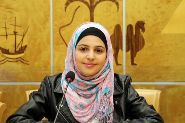 Muzoon, ambassadrice de l'UNICEF au Luxembourg