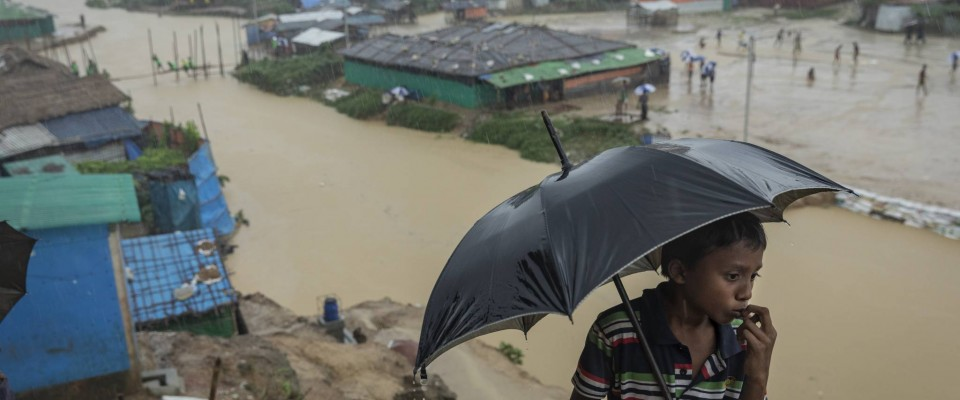 Situation d'urgence des réfugiés Rohingyas