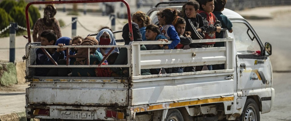 Nearly 70,000 children displaced as violence escalates in northeast Syria
