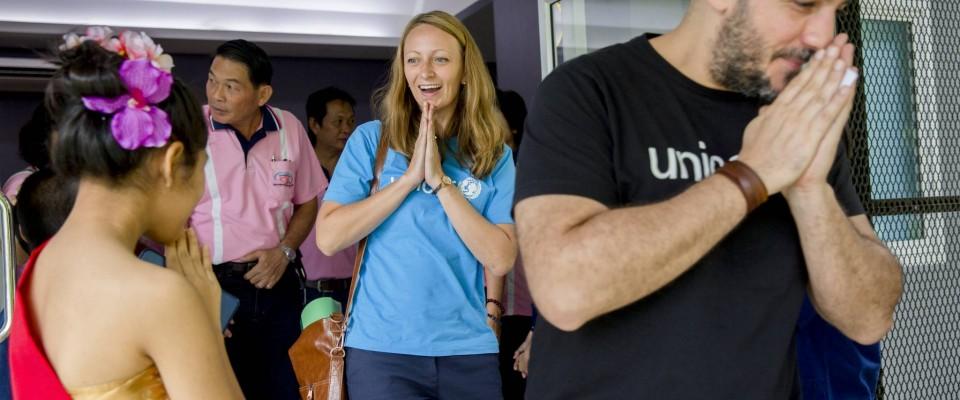 Eng lëtzebuergesch UNICEF Mataarbechterin am Ausland