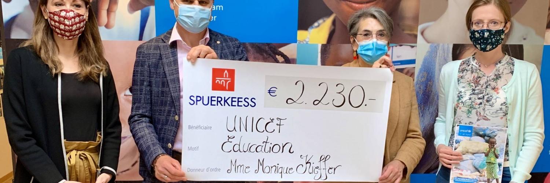 2.230 € collectés par la Bibliothèque nationale du Luxembourg